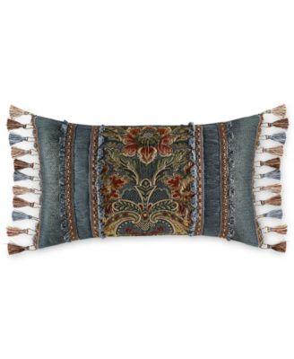 """J Queen New York Cassandra 20"""" x 15"""" Decorative Pillow"""