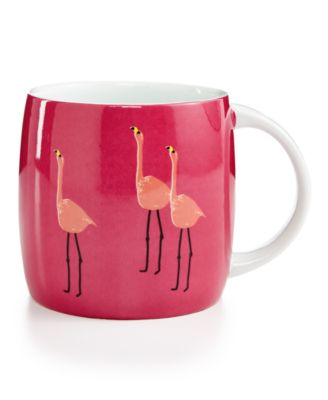 Martha Stewart Collection Whim Mugs Collection Flamingo Mug, Only at Macy's