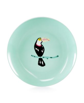 Martha Stewart Collection Whim Dinnerware Collection Toucan Appetizer Plate, Only at Macy's