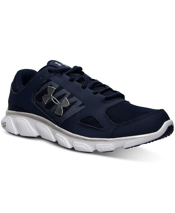 Under Armour - Men's Micro G Assert V Running Sneakers from Finish Line
