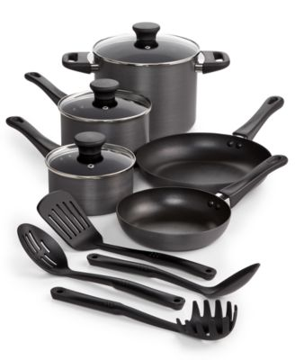 Tools of the Trade Hard-Anodized 12-Piece Nonstick Cookware Set, Only at Macy's