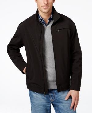 Weatherproof Men's Woven Soft Shell Jacket plus size,  plus size fashion plus size appare