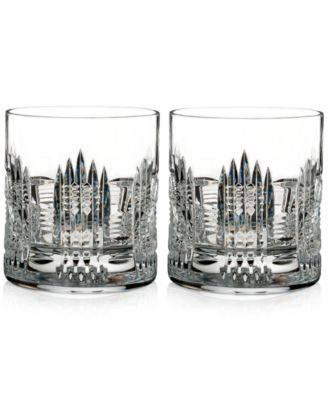 Waterford Dungarvan, Double Old-Fashioned Glasses Set of 2