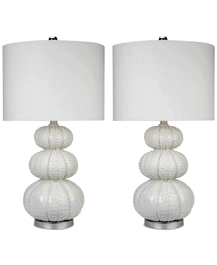 Abbyson Living - Set of 2 Ida Table Lamps
