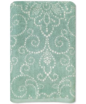 Lenox French Perle Groove Bath Towel