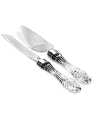 Waterford Serveware, Crystal Cake Knife and Server Set