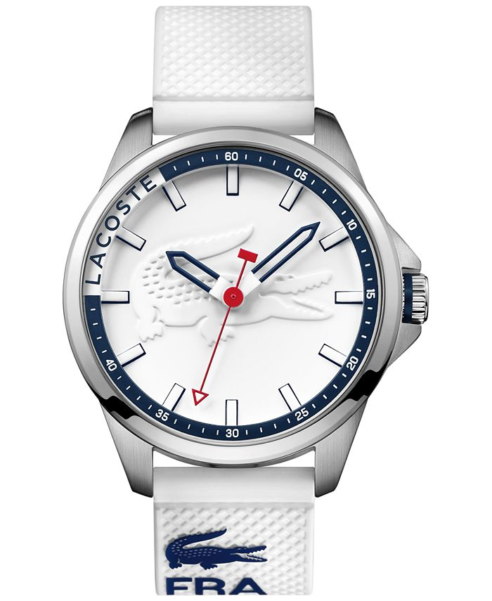 Lacoste - Men's Capbreton White Silicone Strap Watch 46mm 2010841