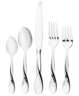 Oneida Satin Aquarius 5-Piece Place Setting