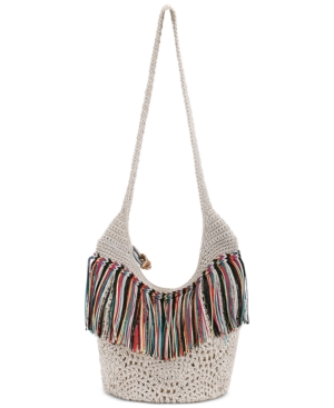 Crochet Bucket Bag : The Sak Heritage Crochet Bucket Bag DealTrend