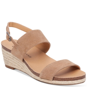 Lucky Brand Jette Wedge Slingback Sandals Women's Shoes