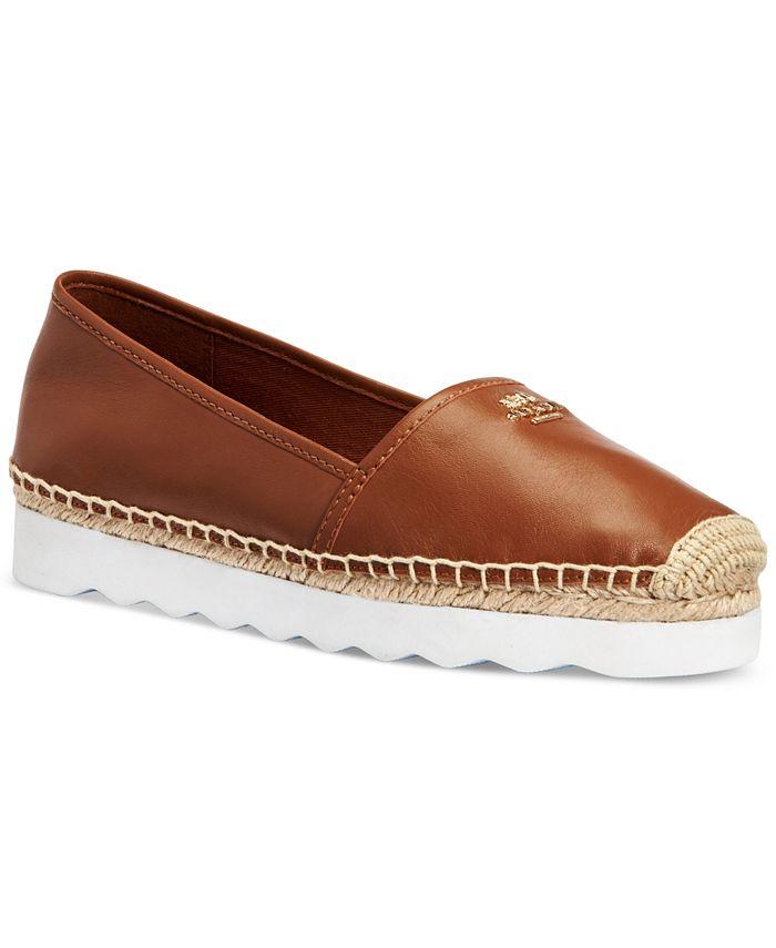 COACH - Rye Espadrille Slip On Sneakers