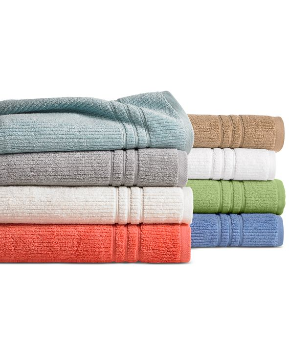Martha Stewart Collection  Quick Dry Bath Towel Collection, Created for Macy's