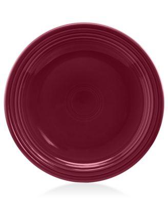 "Fiesta Claret 10.5"" Dinner Plate"