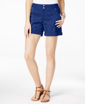 Image of INC International Concepts Cuffed Twill Shorts, Only at Macy's