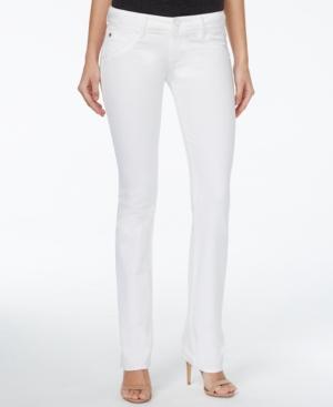 Hudson Jeans Signature Bootcut White Wash Jeans