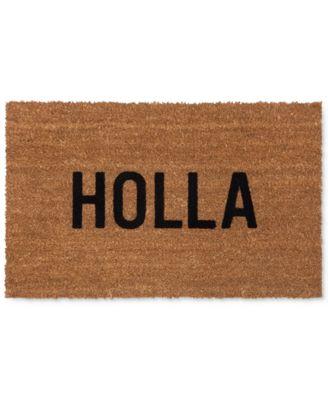 """Reed Wilson """"Holla"""" Doormat"""