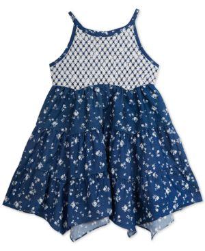 Rare editions little girls handkerchief dress