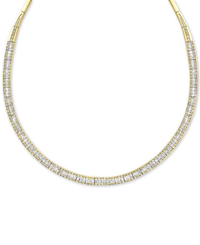 EFFY Collection - Diamond Necklace (4-1/6 ct. t.w.) in 14k Yellow or White Gold