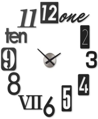 Umbra Numbra Wall Clock