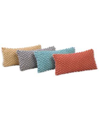 """Victoria Classics Popcorn 9"""" x 18"""" Decorative Pillow"""