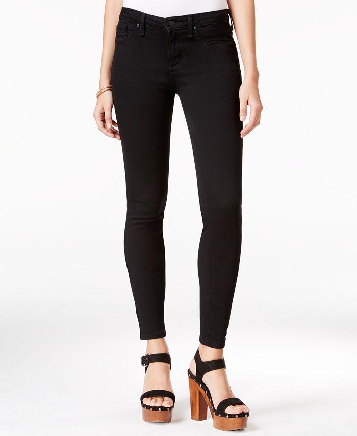Jessica Simpson - Kiss Me Black Wash Super-Skinny Jeans