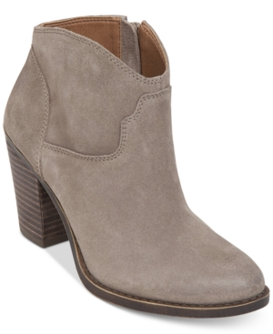 Lucky Brand Eller Western Booties Women's Shoes