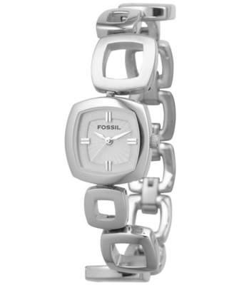 Fossil Watch, Women's Stainless Steel Link Bracelet ES1869