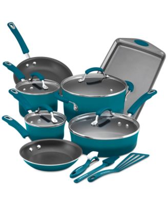 Rachael Ray 14-Pc. Nonstick Cookware Set, Only at Macy's