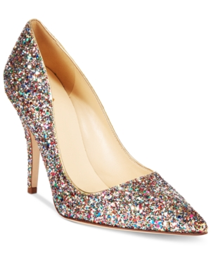kate spade new york Licorice Too Multicolor Glitter Pumps Women's Shoes