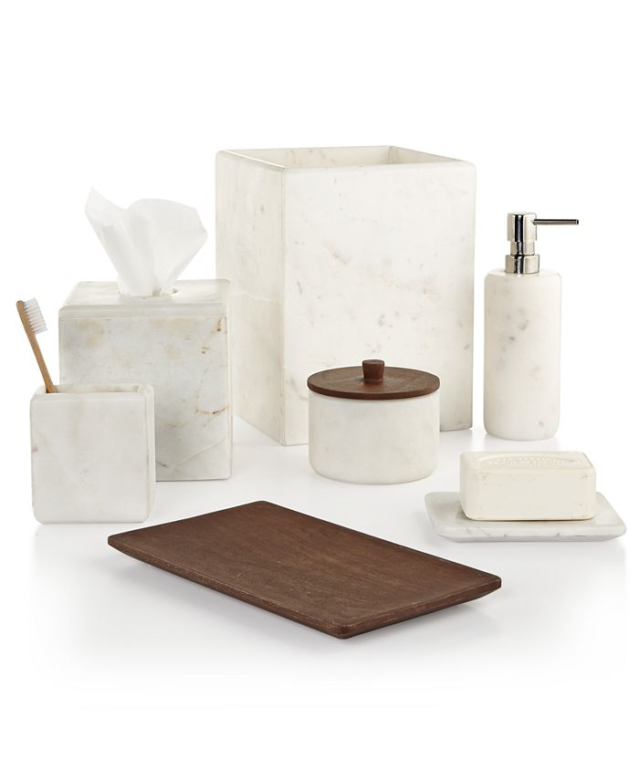 Hotel Collection - Marble Bath Accessories