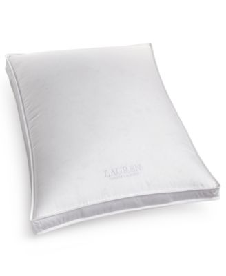 Lauren Ralph Lauren AAFA® Certified Hypoallergenic Firm Density Down Standard Gusset Pillow