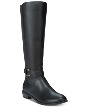 Karen Scott Davina Riding Boots, Only at Macy's Women's Shoes