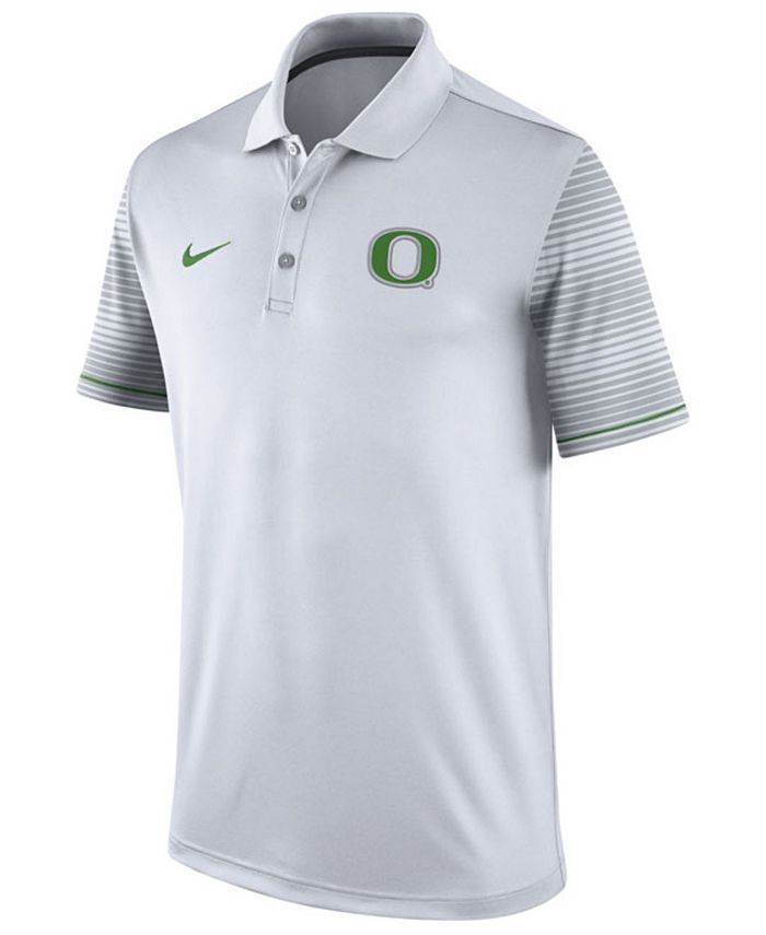 Nike - Men's Oregon Ducks Early Season Coach Polo Shirt