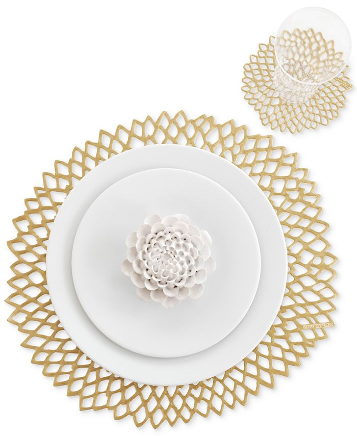 Chilewich - Table Linens, Pressed Dahlia Placemat