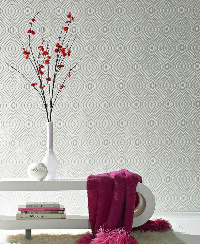 Graham & Brown - Curvy Paintable Wallpaper