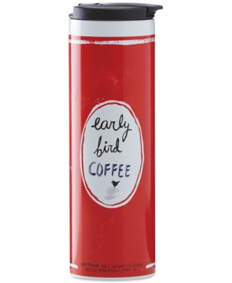 """kate spade new york all in good taste """"Early Bird Coffee"""" Travel Tumbler, Only at Macy's"""
