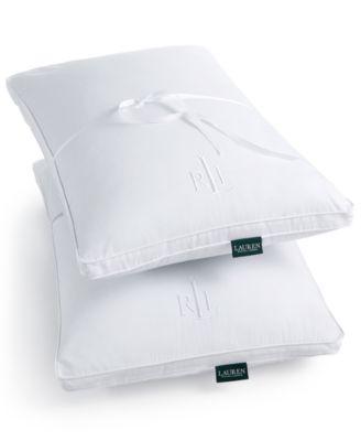 Lauren Ralph Lauren Bronze Comfort Twin Pack of Standard Gusset Pillows