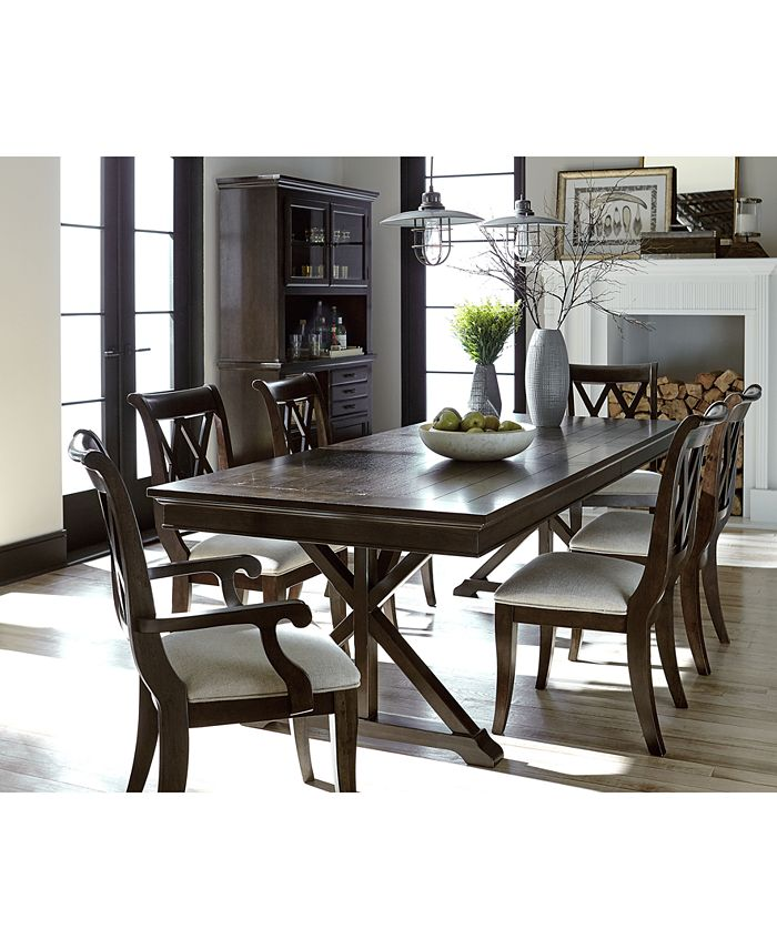 Furniture Baker Street Dining Furniture Collection Reviews Furniture Macy S