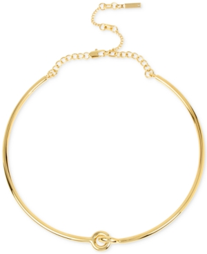 Kenneth Cole New York Gold-Tone Linked Choker Necklace
