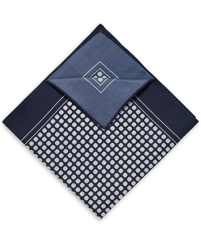 Hugo Boss - Men's Printed Silk Pocket Square