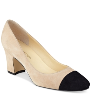 Ivanka Trump Lindi Block-Heel Pumps Women's Shoes