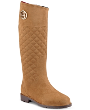 Tommy Hilfiger Babette Quilted Rain Boots Women's Shoes