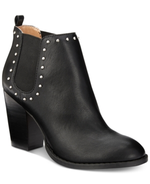 Report Maysonia Studded Chelsea Booties Women's Shoes