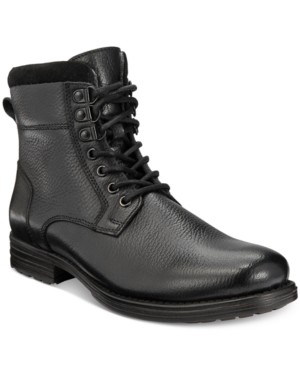 Bar Iii Men's Shep Plain Toe Wool Lined Utility Boots, Only at Macy's Men's Shoes