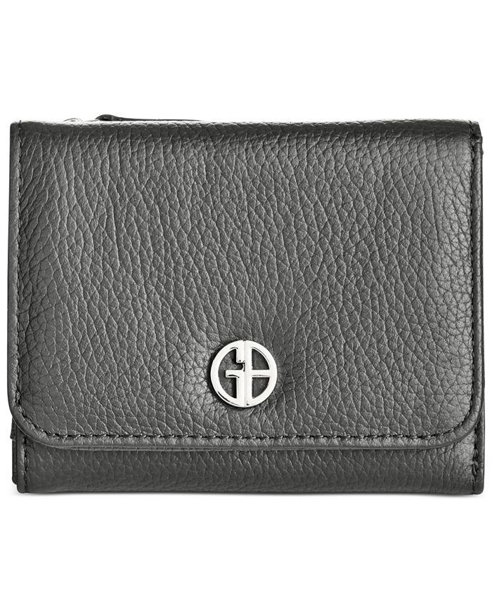 Giani Bernini - Softy Leather Mini Trifold Wallet