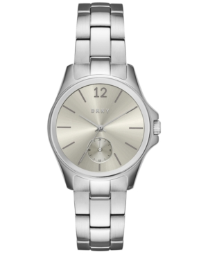Dkny Women's Casual Case Stainless Steel Bracelet Watch 36mm NY2516