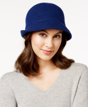 1930s Style Hats – New Vintage Inspired Designs August Hats Melton Love Asymmetrical Cloche $24.99 AT vintagedancer.com