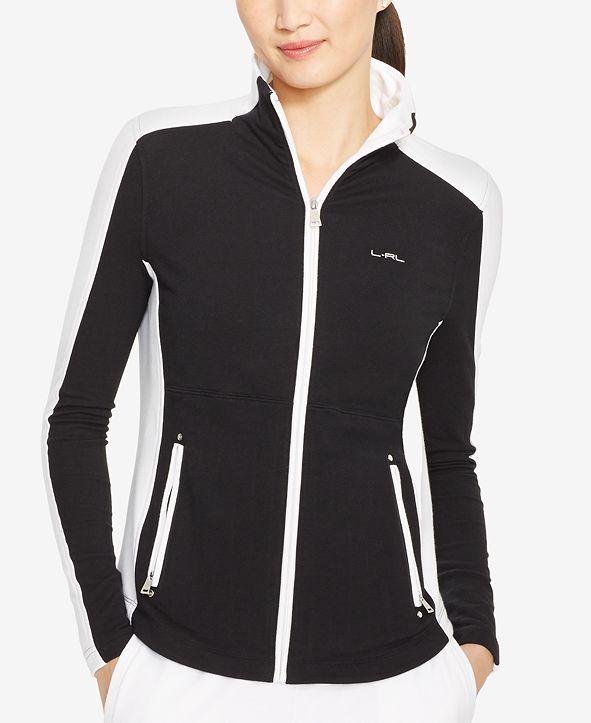 Lauren Ralph Lauren Colorblocked Full-Zip Jacket