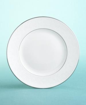 "Martha Stewart Collection with Wedgwood ""Petal Lattice"" Salad Plate, 8"""