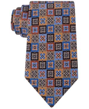 New 1960s Style Men's Ties Geoffrey Beene Mens Starbox Geo Tie $18.99 AT vintagedancer.com